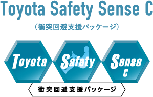 Toyota Safety Sense C 衝突回避支援パッケージ